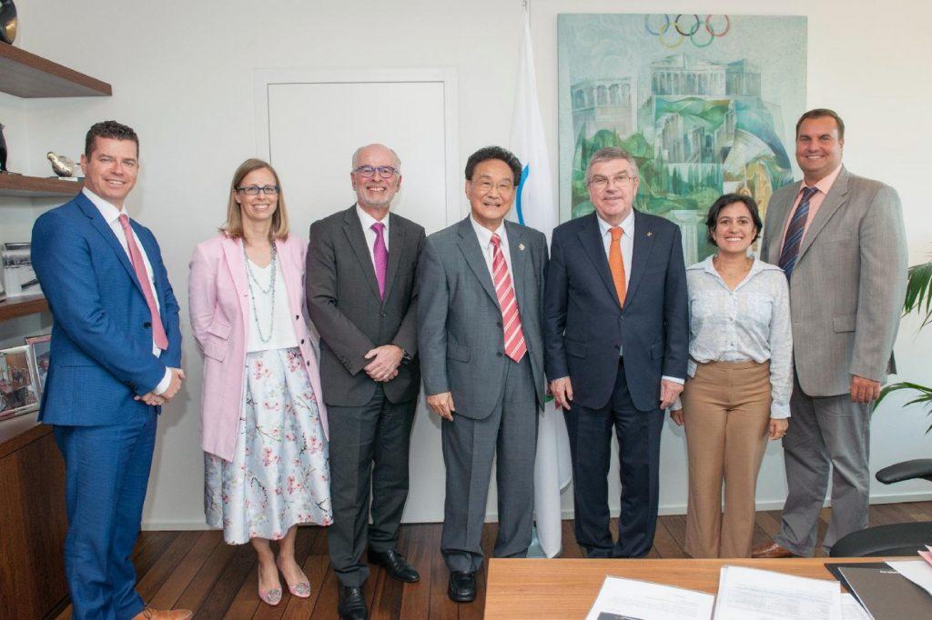 Czene Attila a NOB elnökével tárgyalt Lausanne-ban
