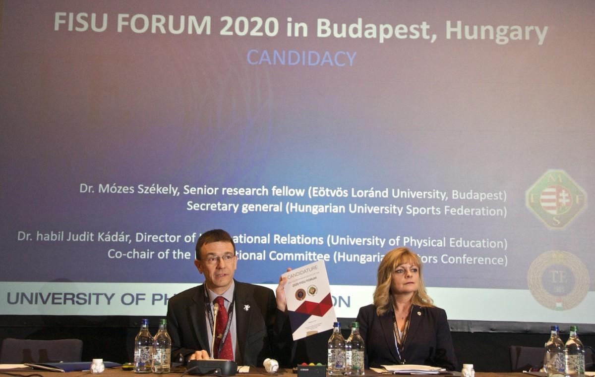 MozduljRá Budapest! Hallgatói Világfórum a sportról 2020-ban a Testnevelési Egyetemen
