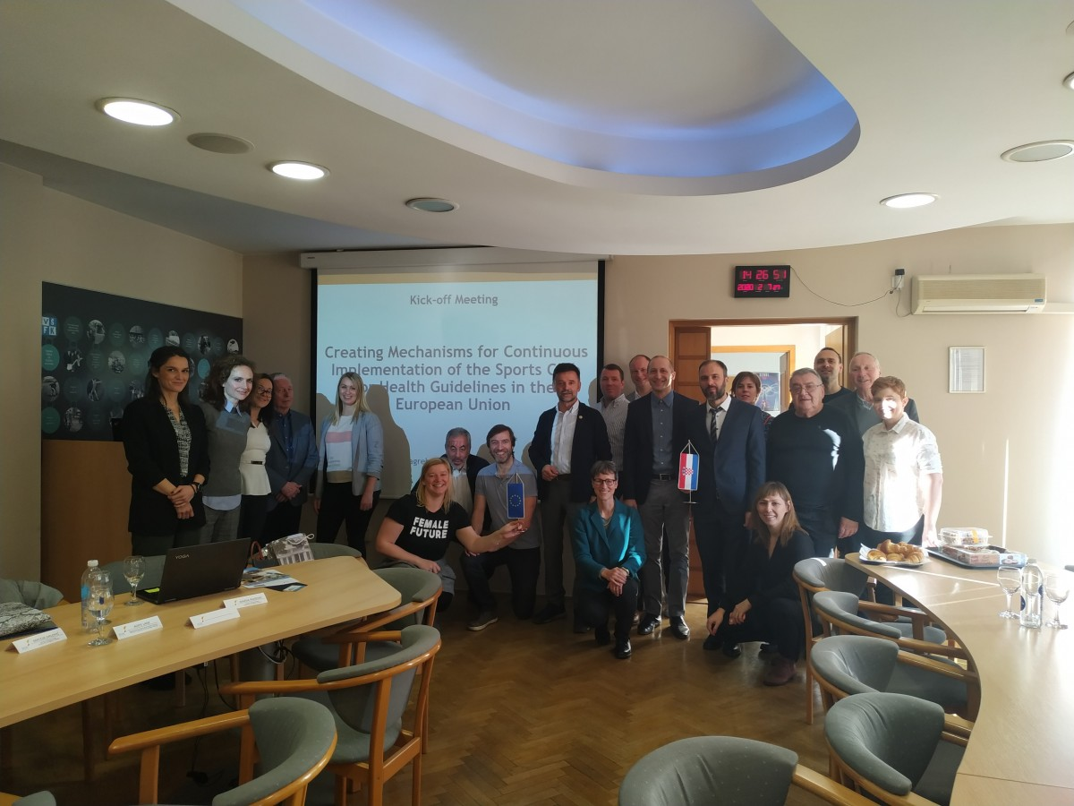 Sports Club for Health 2020-22 project successfully launched