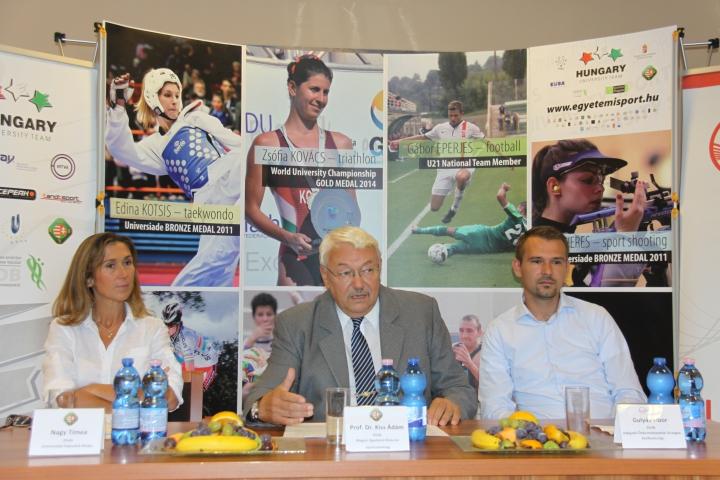 Egyetemi Sport Nemzetközi Napja – sajtótájékoztató