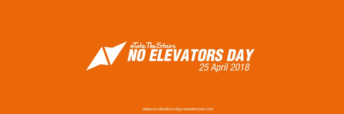 No Elevators Day reveals simple solution to a complex problem
