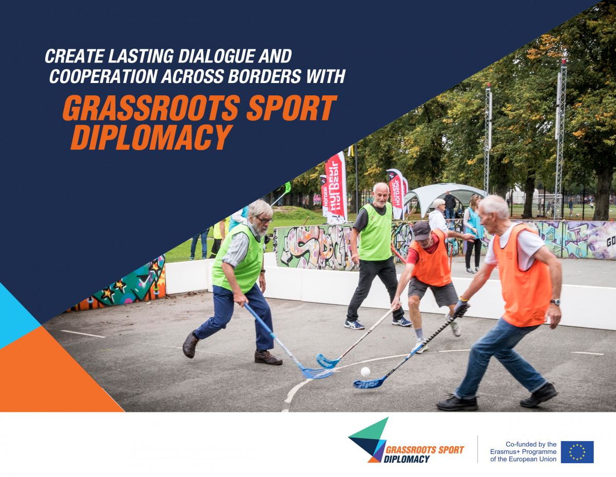 """Civil Sportdiplomáciai Ajánlások – segítség a civil sportdiplomáciához a """"Grassroots Sport Diplomacy"""" projektnek köszönhetően"""
